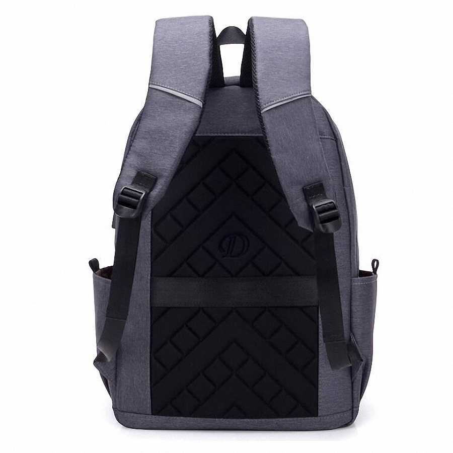 Модный мужской рюкзак для ноутбука, usb-зарядка, Компьютерные рюкзаки, повседневные стильные сумки, большой мужской деловой рюкзак для путешествий, LI-2480