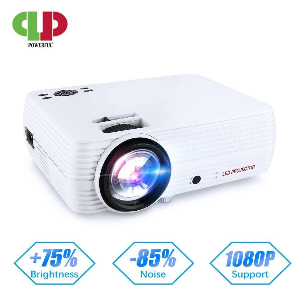 El potente Android 6,0 mini Proyector X5 X5PRO Full-HD 720P WIFI conectar smartphone portátil LED Proyector Beamer casa teatro