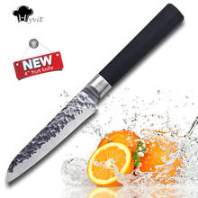 Myvit Stainless Steel Kitchen Knife Santoku Professional Japanese Paring Fruit Knife x30cr14 Vegetable Knives Cooking Tool(China)