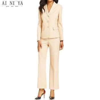 new Women Pant Suits custom made ladies business suits female suits elegant work wear women's formal uniform great women suits