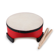Toy Musical Instrument Orff's Drum Learning Education Percussion Drum Enlightenment Of Educational Toys Sheepskin Drums Bodhran