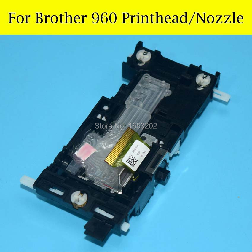 1 PC High Quality 100% Original NEW Printhead 960 Print head For Brother DCP 5860 440 630 660 665 850 860 Printer original new printhead print head printer head for brother j4410 j4510 j4610 j4710 j3520 j3720 j2310 j2510 j6520 j6920 dcp j4110