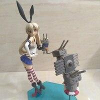 Anime Kantai Collection Shimakaze PVC Action Figure Collectible Model doll toy 24cm