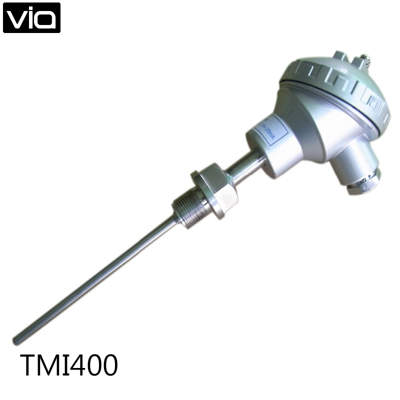 ФОТО TMI400 Free Shipping -200~+1600 C Temperature Detector Indoor temperature Sensor 4~20mA Probe