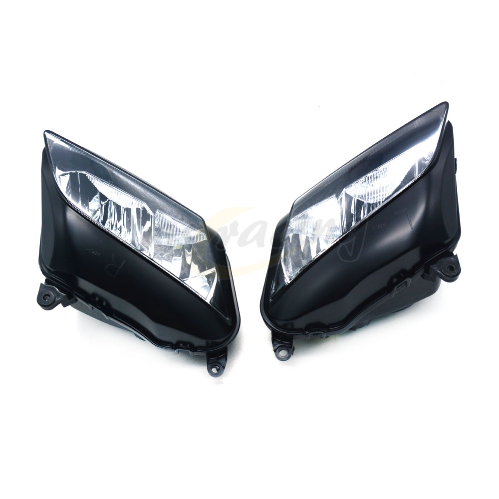 Motorcycle Headlights Headlamps Head Lights Lamps Assembly For HONDA CBR600RR 2007-2012 07 08 09 10 11 12