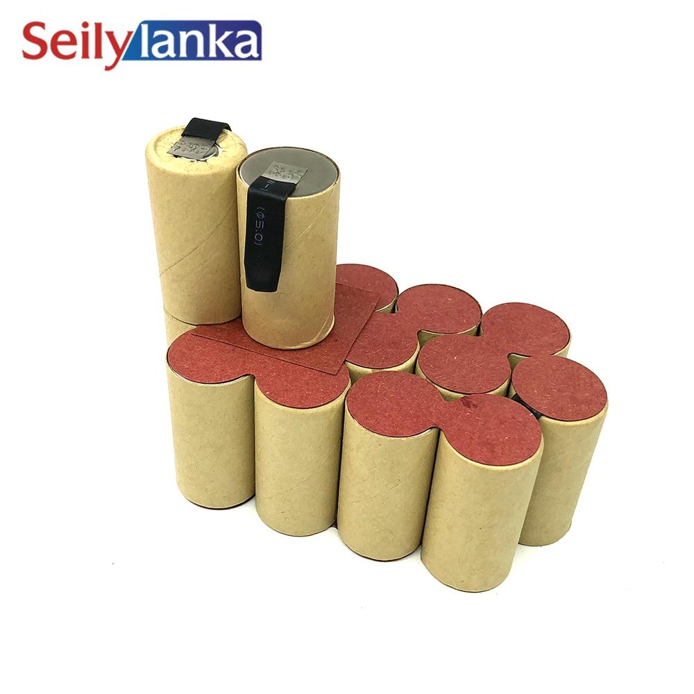 3000mAh for Ferm 18V Ni MH Battery pack CD 245013B for self installation