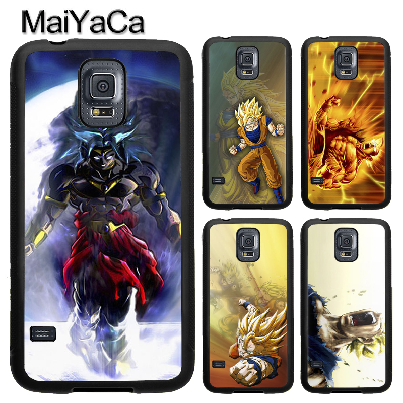 MaiYaCa DRAGON BALL Z Super GOKU Black Case For Samsung Galaxy S8 S9 Plus S4 S5 S6 S7 edge Note 8 Note 5 Soft Rubber Back Cover