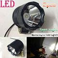 2 unids Moto Motocicleta Eléctrica 8 W Faros LED Cabeza de Conducción de Luz de Trabajo de Niebla Spot de Noche Lámpara de Seguridad Universal