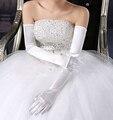 Hot Moda Completa Fingers Opera Comprimento Longo Multi-cor Simples Luvas De Casamento para Noivas Casamento Acessórios de Moda