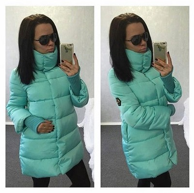 Winter Jacket Women Parka Thicken Outerwear Women Coats Long Slim Design Cotton padded Plus Size turtleneck