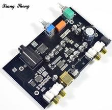 xiang sheng PCM5100 dac board MS8416 fiber optic USB audio volume control decoder board NE5532 op amp dac board