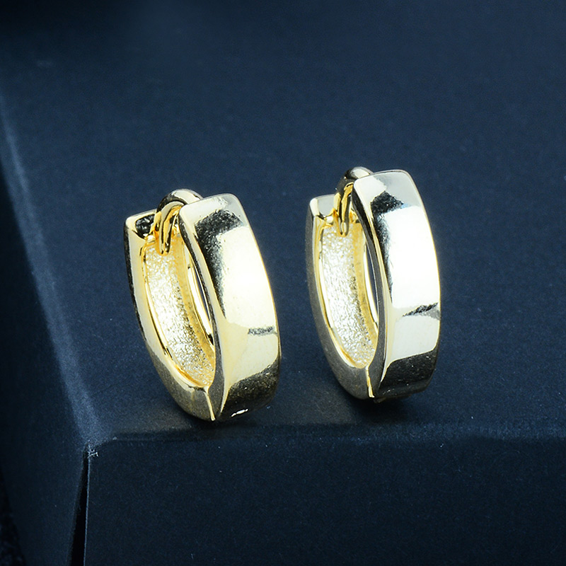 HTB1Jb3EPhnaK1RjSZFBq6AW7VXaC - MISANANRYNE Classic Design Gold Color AAA CZ Wedding Hoop Earrings for Women Fashion jewelry Design Gift Accessories