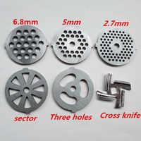 meat grinder plate net knife meat grinder parts for vitek Universal variety of models 380 382 383 385 386 387 388 Etc.