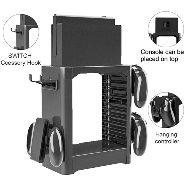 JYS Nintendo Switch Storage Stand