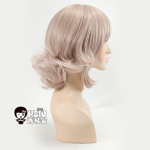 Image 5 - HSIU Super peluca DanganRonpa, disfraz de Chiaki Nanami, Cosplay de mujer adulta, Cosplay de Anime para Halloween, pelo, envío gratis
