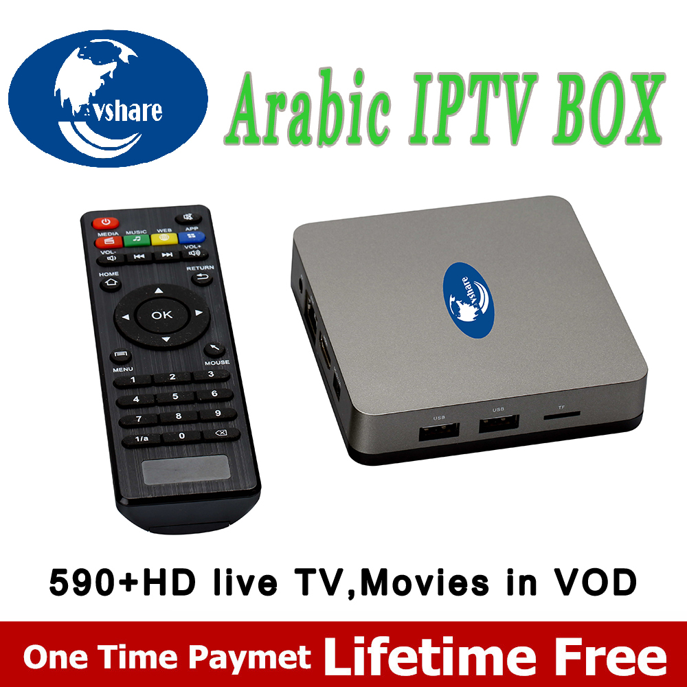 10 PCS Arabic IPTV Android  arabic TV Box NO subscription forever,Support Arabic/ African/English/Turkey Channels arabic tv box arabic information retrieval