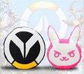 Игры D. VA Кролик Подушка Кролик Логотип Поддержи Подушка Плюшевые Игрушки