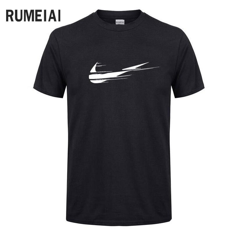 2018 El más nuevo diseño de Algodón Camisetas Divertidas O-cuello - Ropa de hombre