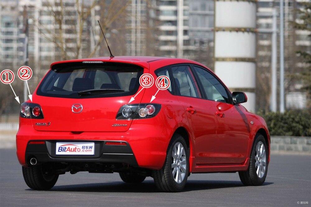 Mazda 3 Mazda3 Bk 07 08 Version Hatchback Car Taillights Brake Lights Turn Signal Pen Ink