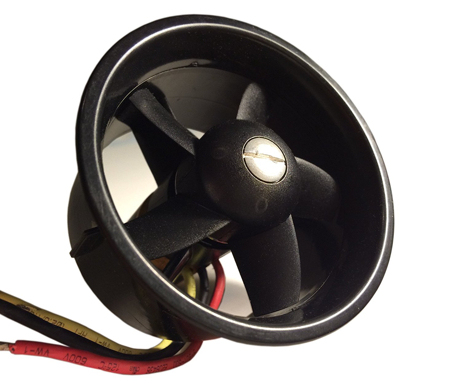 QX-Motor 64mm EDF Ducted Fan Set 5 Blades Electric EDF with 3-4s Motor QF2822 4300KV Brushless Outrunner Motor for Jet AirPlane 64mm duct fan 4800kv brushless motor