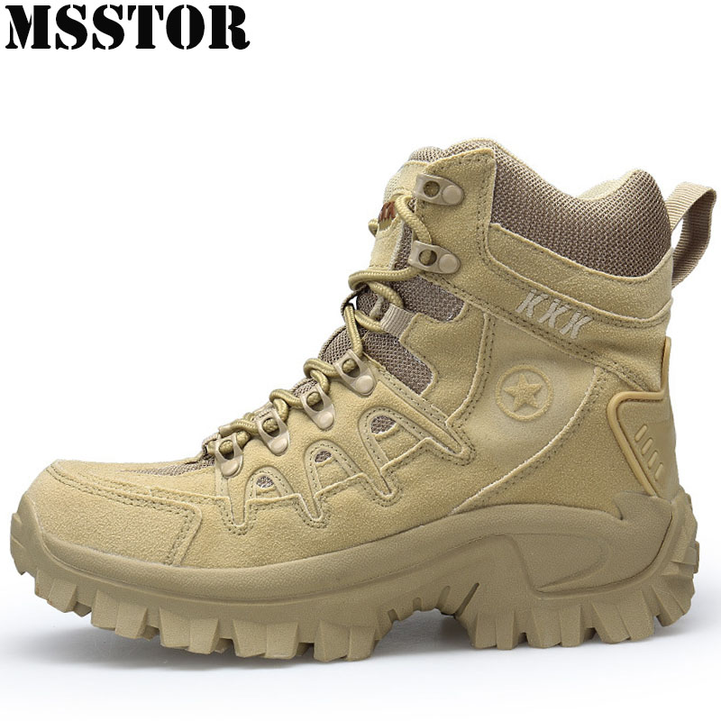 MSSTOR Men Hiking Shoes Man Brand Hunting Trekking Tactical Boots Camping Shoes Outdoor Athletic Climbing Hiking Boots Sneakers mulinsen winter2017 ankle boots hiking shoes for men hunting trekking men s sneakers breathable outdoor athletic sports brand