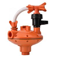 Durable Quality Plastic Poultry Feeding Water Pressure Regulator Automatic Double Tubes Decompression Water Feeders