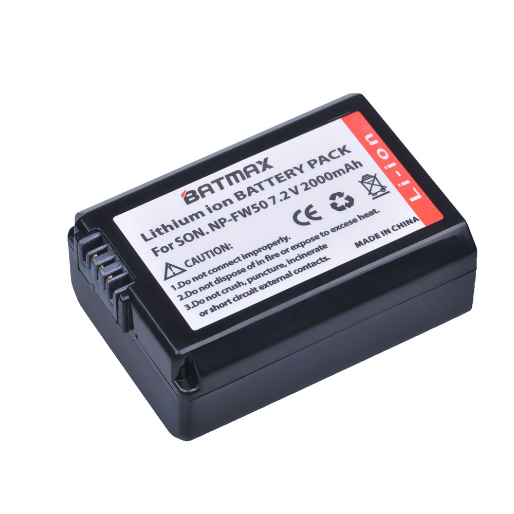 1Pc 2000mAh NP-FW50 NPFW50 NP FW50 Battery for Sony Alpha a33,a35,a37,a55,SLT-A33,SLT-A35,SLT-A37,SLT-A37K,SLT-A37M,SLT-A55 pro a37
