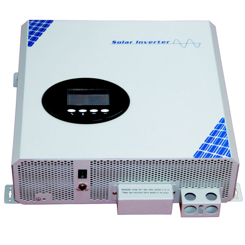 купить 5000va power inverter high frequency pure sine wave off grid solar inverter built in 55A MPPT controller with dc48v ac220v по цене 40839.15 рублей