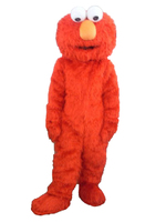 High Quality Adult Elmo Mascot Costumes For Sale Halloween Outfit Fancy Dress Suit Elmo Adult Clothes