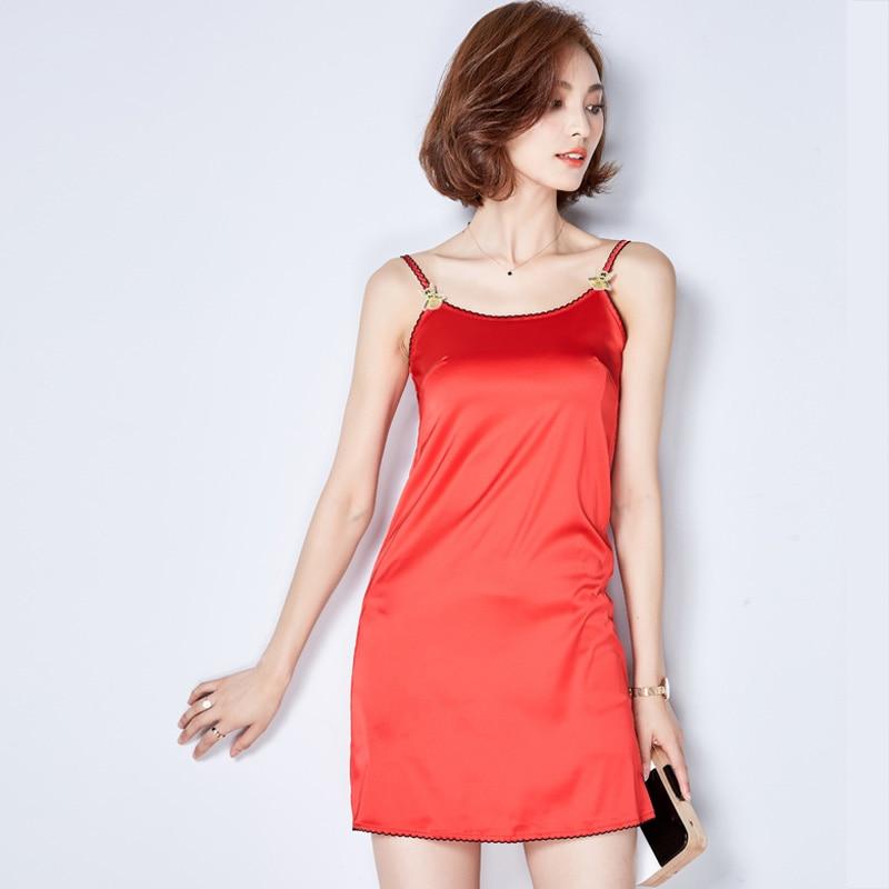 2016 New Summer Style Sleeveless Silk Beige Pink Women -3318