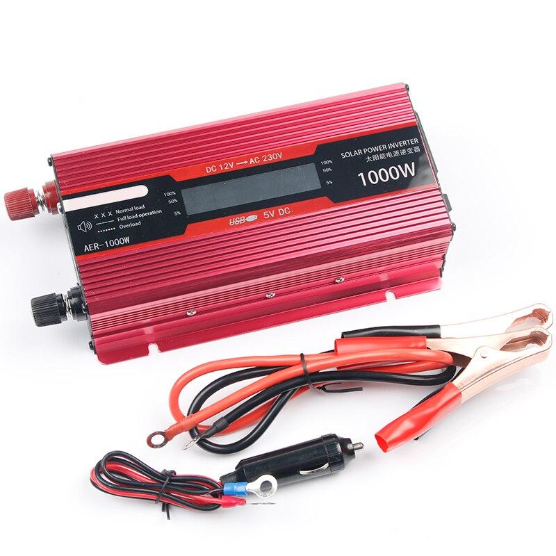 12V 220V Inverter for Car Inverter Voltage Transformer Converter Power Inverter 12 220 2000W 1000W Charger Display Solar Adapter car inverter 12v 220v power inverters voltage transformer converter 12 220 1000w charger on display solar adapter 12v 220v dy104
