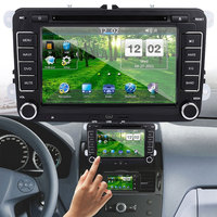 Vehemo 16 ГБ 7 дюйм(ов) автомобильный навигатор gps навигатор электроники транспортного средства навигации dvd плеер, навигатор Многофункциональн