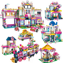 2019 New Building Blocks Toy Compatible Friends City Girls Fun Holiday Series Bricks Best Birthday Gifts for Children