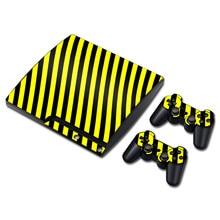 Popular designer de vinil de proteção maravilhoso projeto adesivo de pele para PS3 slim