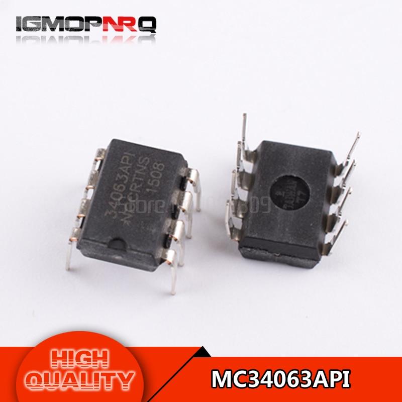 Free shipping 10pcs/lot MC34063API DIP8 MC34063AP1 DIP MC34063 34063API new and original IC free shipping
