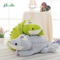 Kawaii Big Anti stress Soft Crocodile Plush Doll Sleep Pillow Stuffed Animals Crocodile Kids Toy Birthday Kids Gift Wholesale 80