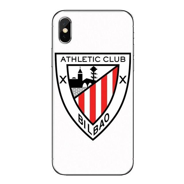 athletic club bilbao fc logo lembut transparan kasus penutup untuk xiao mi mi a1 a2 5x6x8 lite se pro max mi x 2 2 s 3 mi 5 mi 5 s setengah dibungkus kasus aliexpress aliexpress