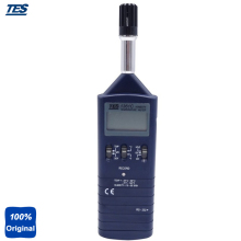 Buy TES-1361C Dual Display LCD / Clock 7000 Record Datalogging Humidity Temperature Meter