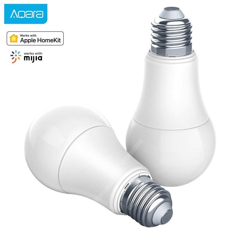 Xiaomi Aqara Smart Bulb 9W E27 2700K-6500K 806lum Smart Tunable White Color LED Lamp Light Work Home Kit And For Xiaomi Home App