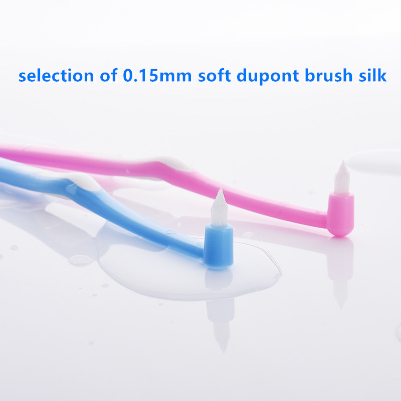 Y kelin orthodontic toothbrush small head soft hair correction teeth braces clean wisdom tooth toothbrush dental floss hygiene in Toothbrushes from Beauty Health