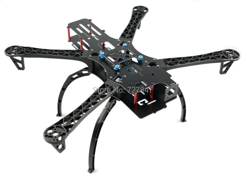 FPV Quadcopter X500 500 Quadcopter Frame 500mm  &  Landing gear skids for GoPro Multicopter TBS BlackSheep quadcopter