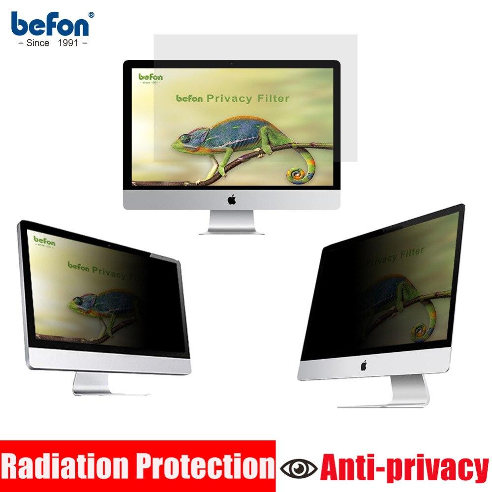 Befon 23 pouces (16:9) filtre de confidentialité ordinateur moniteur écran film de protection pour écran large ordinateur de bureau 509mm * 286mm