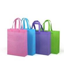 Печать 1 цвет Логотип заказной нетканый мешок лучший для корпоративные подарки рекламная бизнес подарочная сумка