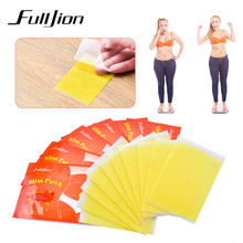 Fulljion 10Pcs/Bag Slimming Navel Sticker Slim Patch Weight Lose Products Burning Fat Patches Hot Body Shaping Slimming Stickers(China)