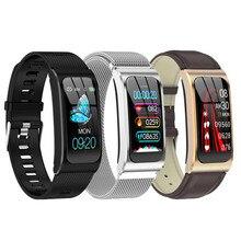 Смарт браслет AK12 Ip68, водонепроницаемые женские часы, браслет с монитором сердечного ритма, фитнес трекер, спортивные мужские часы