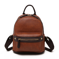 Women Backpack School Shoulder Bags Youth Girl Sac High Quality Leather Female Bolsa Multifunction Backpack Large Capacity Hot