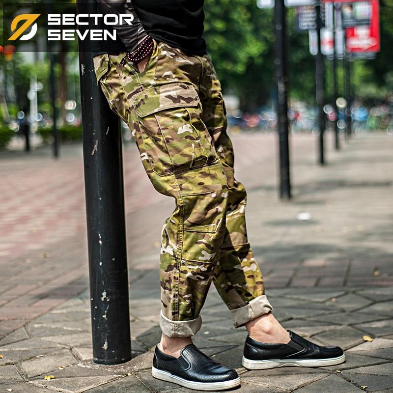 Sektor Sieben Männer Tarnung Militärische Taktische Hosen Cargo - Herrenbekleidung - Foto 6