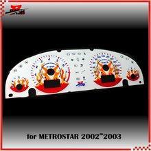 DASH EL свечение манометр для Mondeo Mk3 Metrostar 2002 2003 цифровой затемнитель звуковая активация Пламя Дизайн 240 км 8000 об/мин