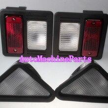 Внешний Глава Хвост светильник комплект для Bobcat T180 T190 T200 T250 T300 T320 A250 A300