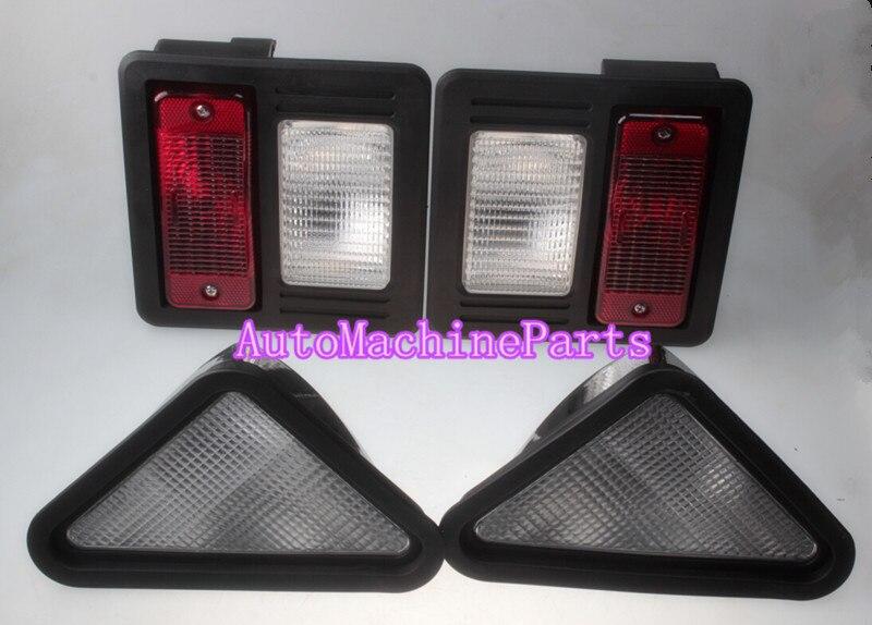 Extérieur Tête Queue Lumière Kit pour Bobcat T180 T190 T200 T250 T300 T320 A250 A300